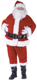 Where to rent SANTA SUIT, DELUXE in Butler PA
