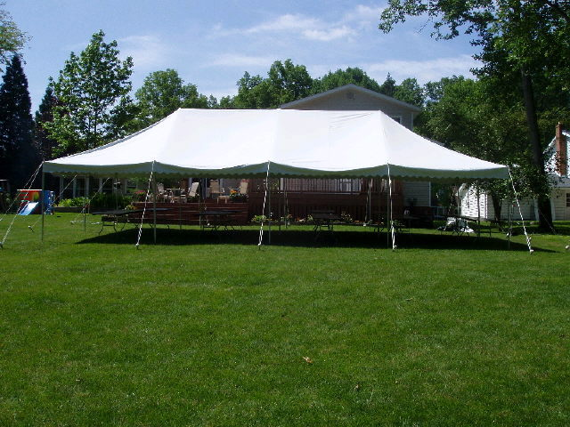 Where to find CANOPY, 20  x 40  POLE, WHITE in Butler