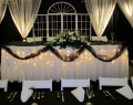 Where to rent DRAPE, SHEER WHITE 10 h x 10 w in Butler PA