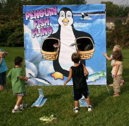 Where to find GAME, PENGUIN FISH FLING in Butler