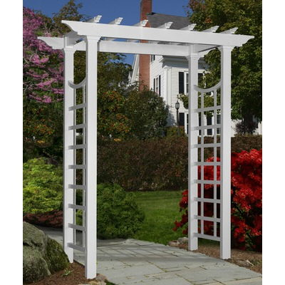 Where to find ARBOR  TRELLIS, WHITE in Butler