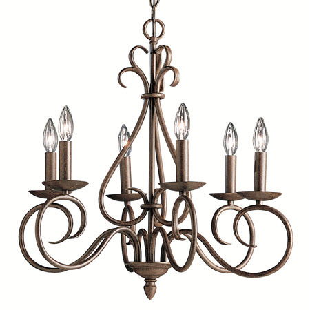 Where to find LIGHT, CHANDELIER BRONZE in Butler