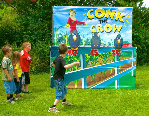 Where to find GAME, CONK THE CROW in Butler
