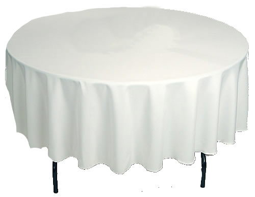 Where to find LINENS, ROUND   90  WHITE in Butler